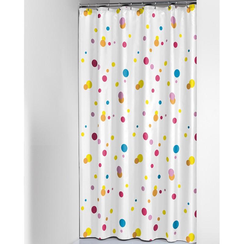 Κουρτίνα Μπάνιου (180x200) SealSkin Dots Multi