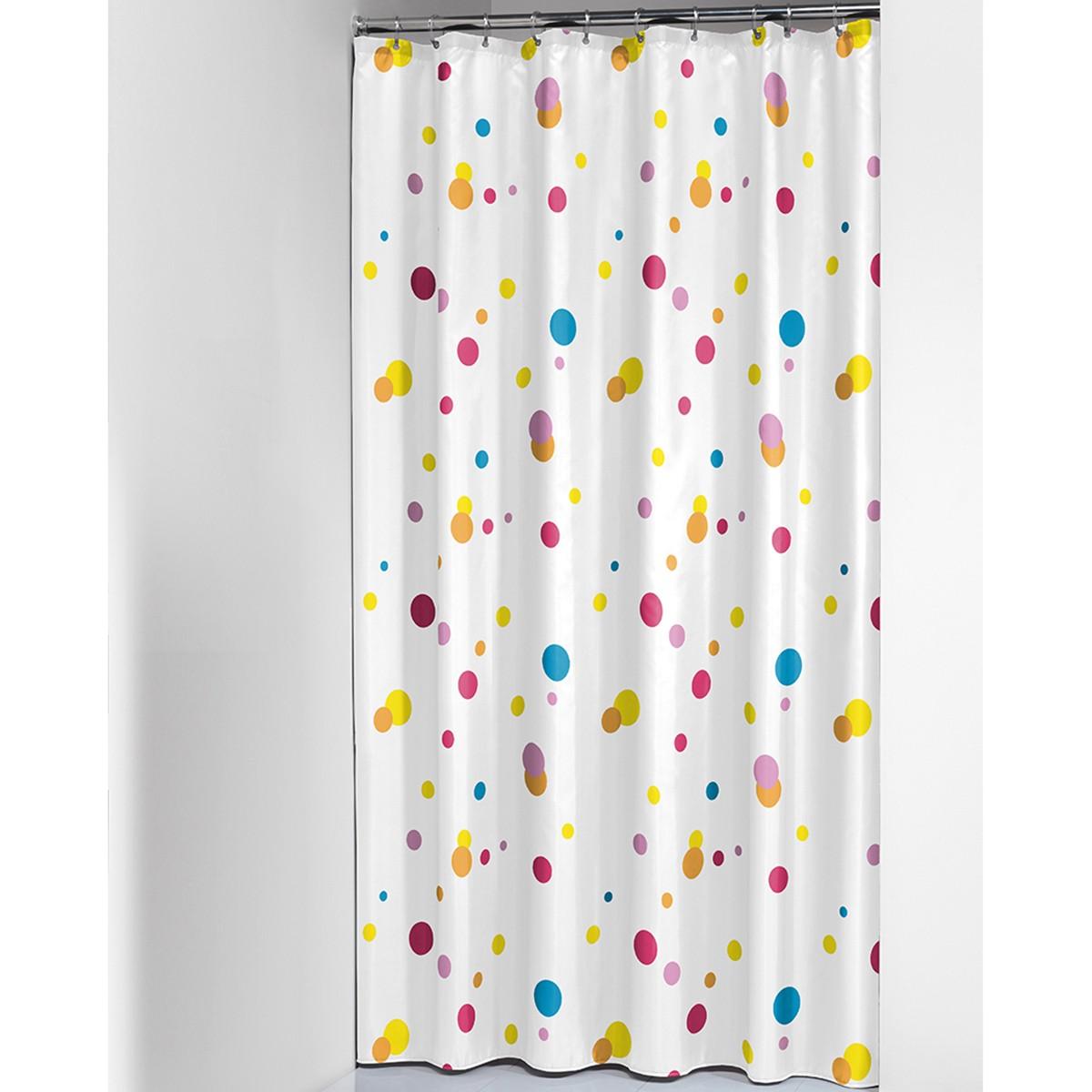 Κουρτίνα Μπάνιου (180×200) SealSkin Dots Multi