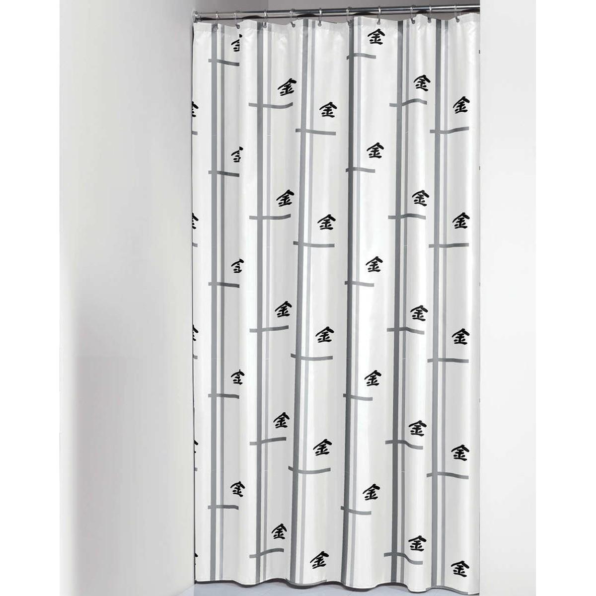 Κουρτίνα Μπάνιου (180×200) SealSkin Elementals Asia