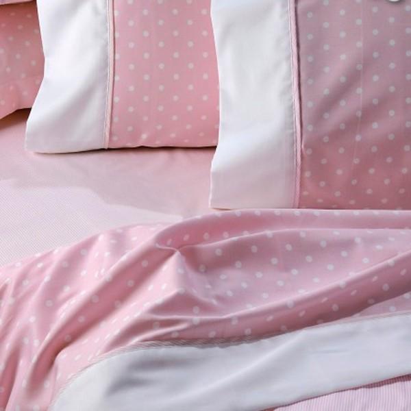 Σεντόνια Υπέρδιπλα (Σετ) Down Town Primo Pink Dots