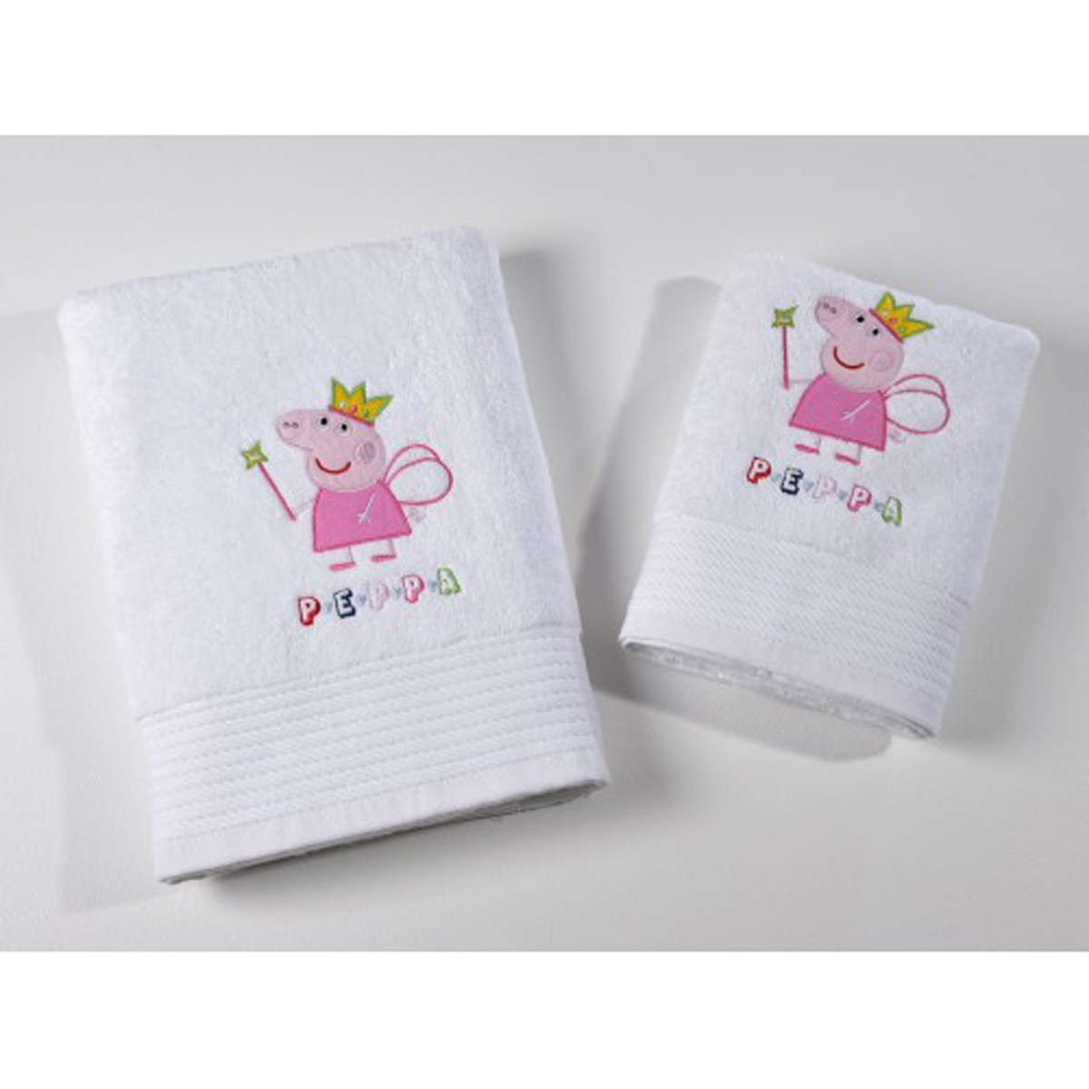 Πετσέτα Προσώπου (50×100) Down Town Peppa Princess