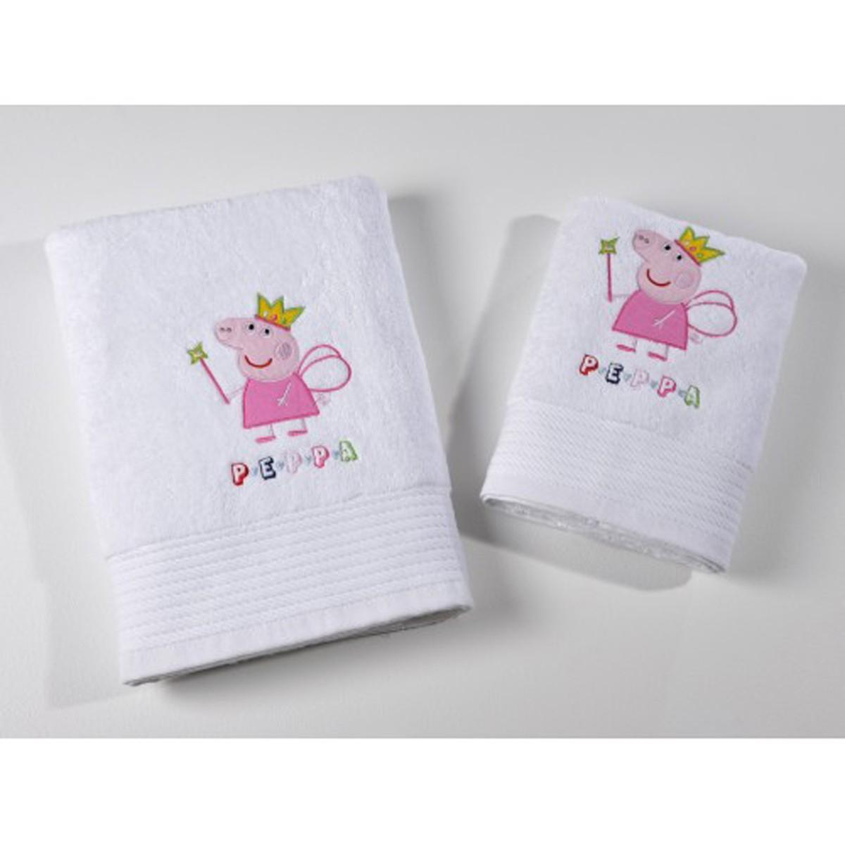 Πετσέτα Σώματος (70×140) Down Town Peppa Princess
