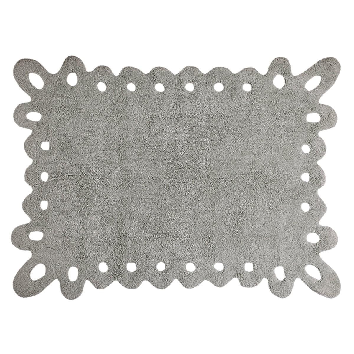 Πλενόμενο Χαλί (120×160) Lorena Canals Puntilla Grey