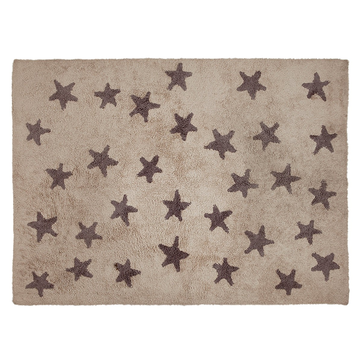 Πλενόμενο Χαλί (120x160) Lorena Canals Messy Stars Linen-Grey