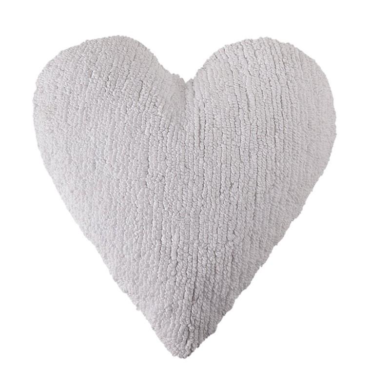 Διακοσμητικό Μαξιλάρι (50x45) Lorena Canals Heart White
