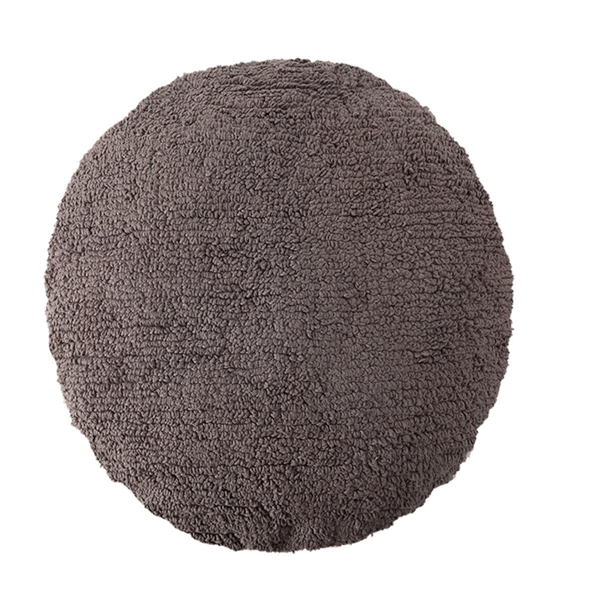 Διακοσμητικό Στρογγυλό Μαξιλάρι Lorena Canals Big Dot Dark Grey