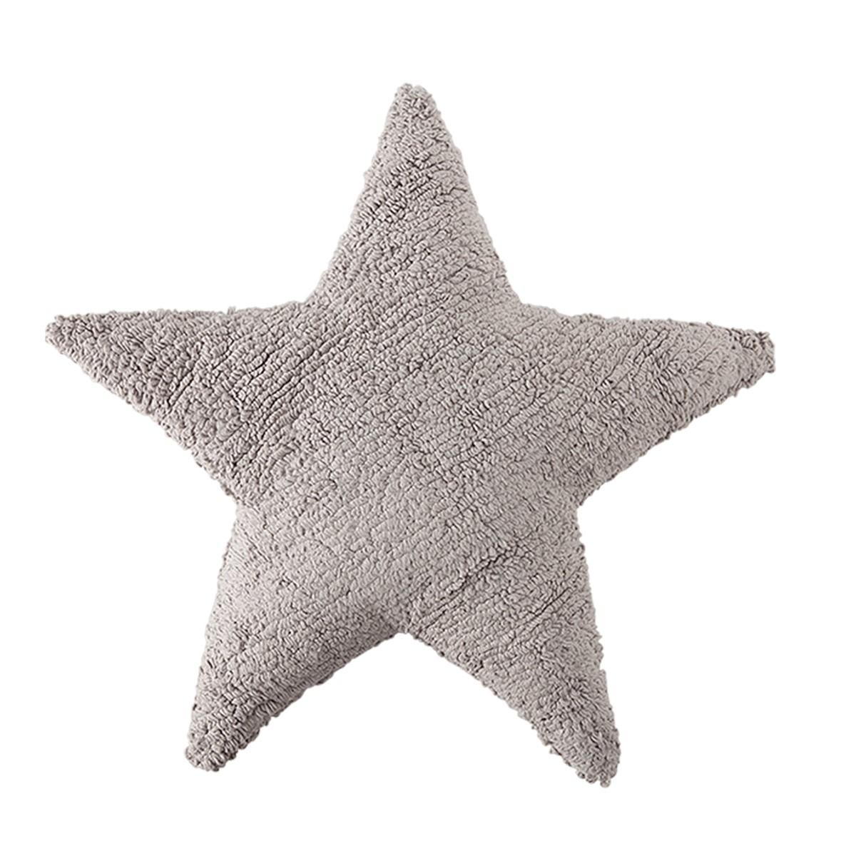 Διακοσμητικό Μαξιλάρι Lorena Canals Star Light Grey