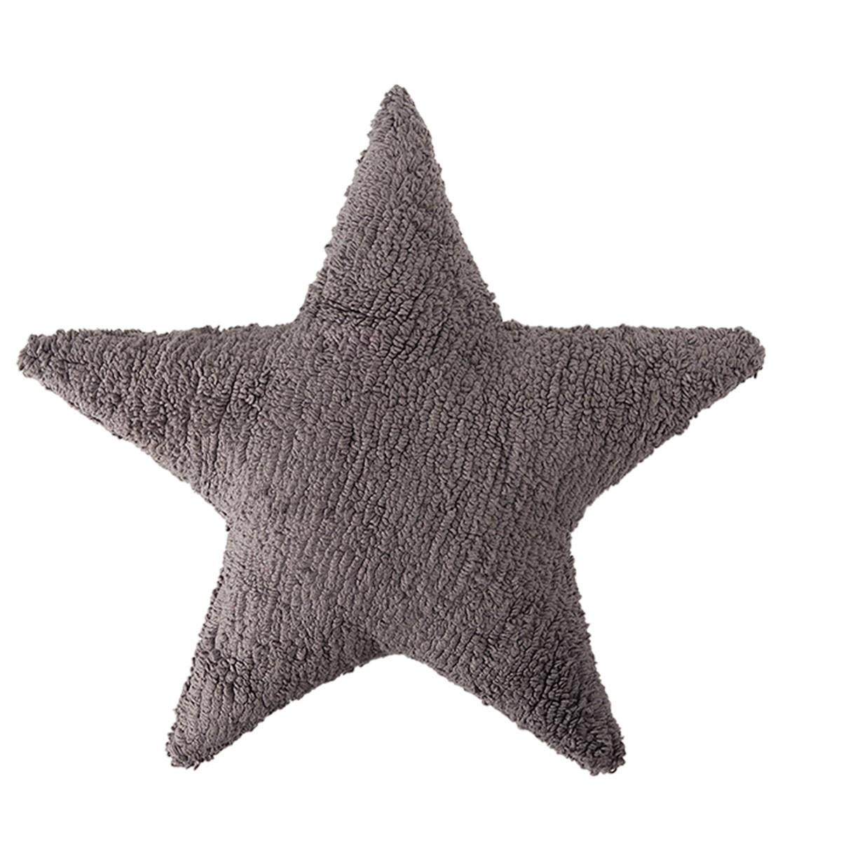 Διακοσμητικό Μαξιλάρι Lorena Canals Star Dark Grey 64575