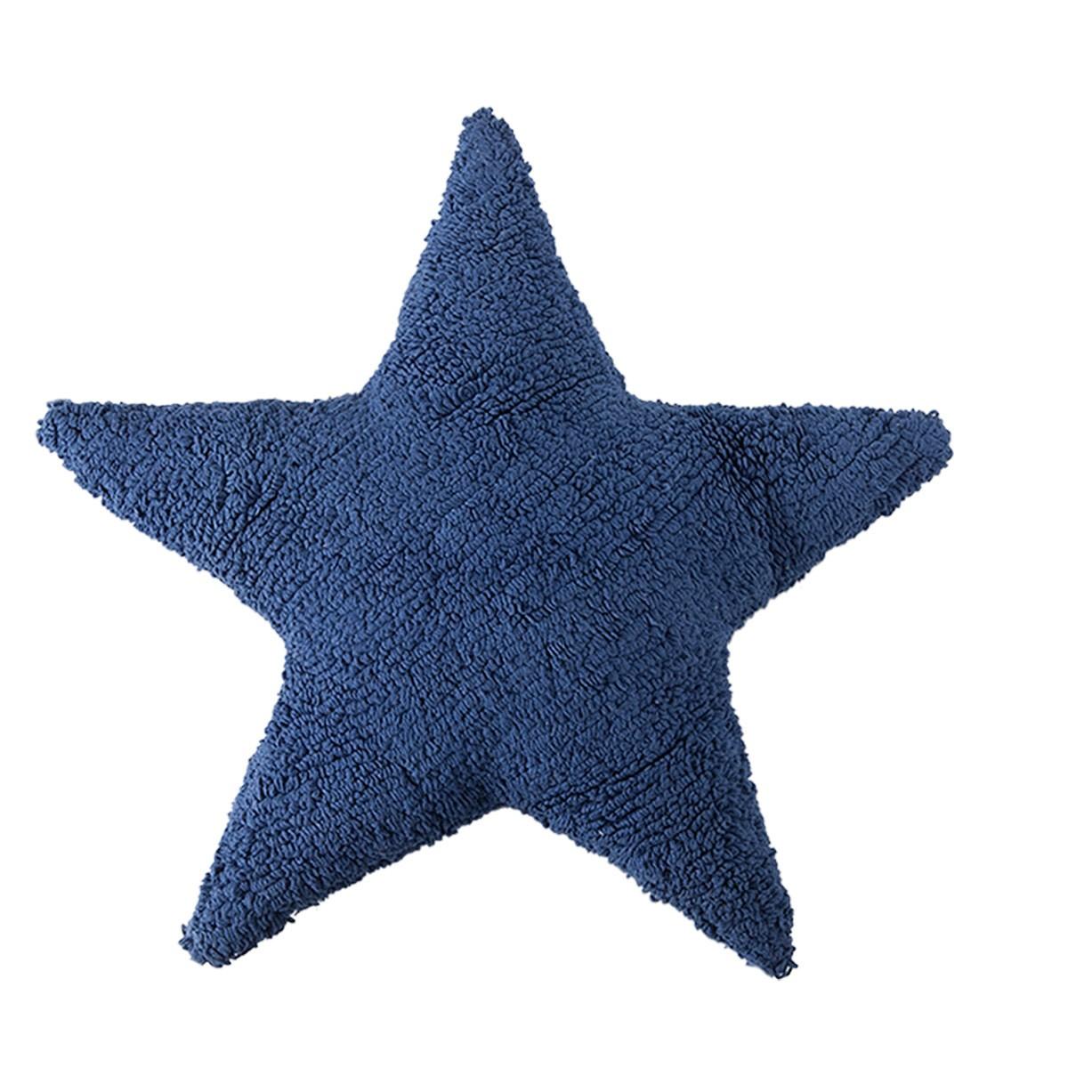 Διακοσμητικό Μαξιλάρι (50x50) Lorena Canals Star Navy