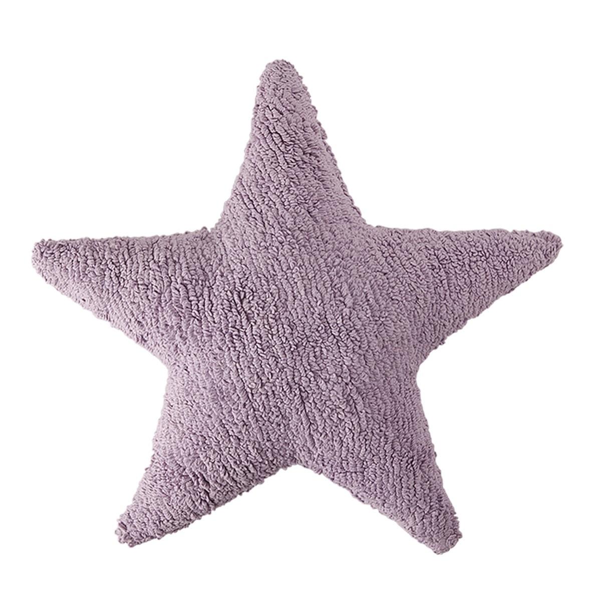 Διακοσμητικό Μαξιλάρι (50x50) Lorena Canals Star Purple