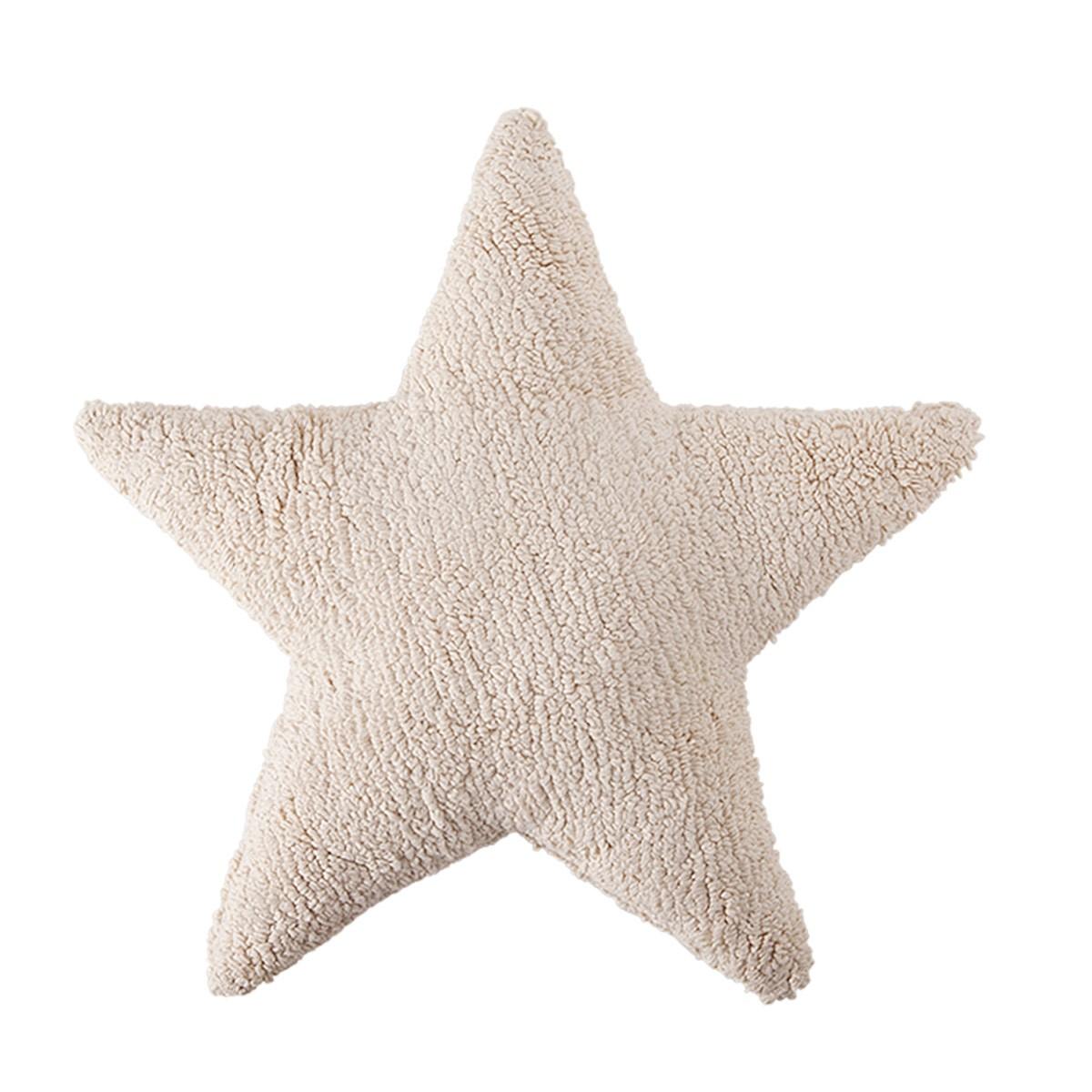 Διακοσμητικό Μαξιλάρι Lorena Canals Star Beige 64581