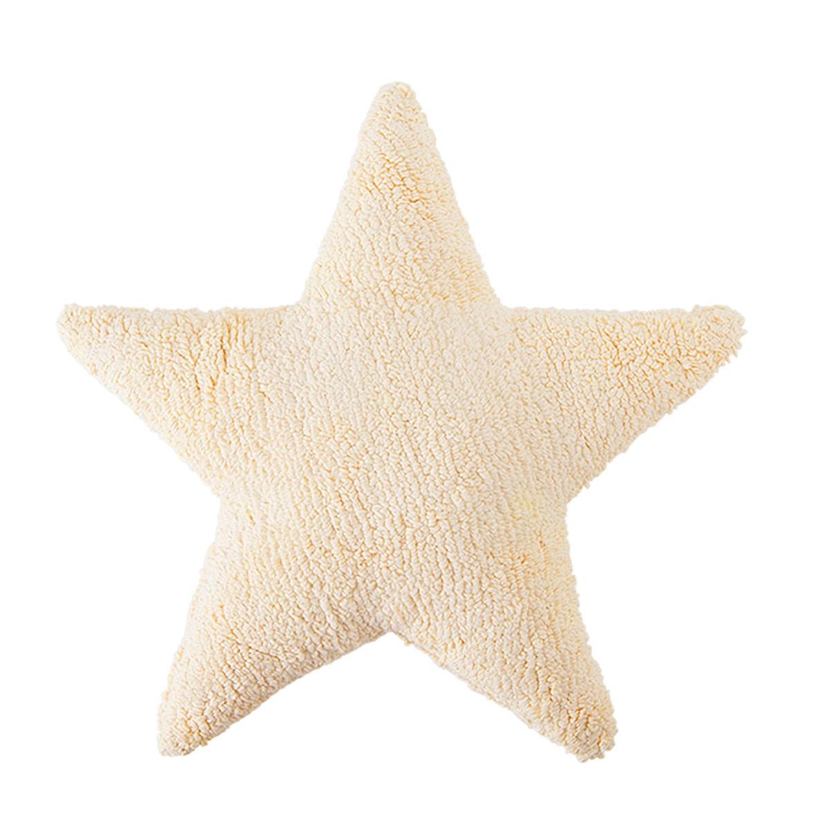 Διακοσμητικό Μαξιλάρι Lorena Canals Star Vanilla