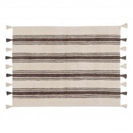 Πλενόμενο Χαλί (120x160) Lorena Canals Stripes Elephant Grey