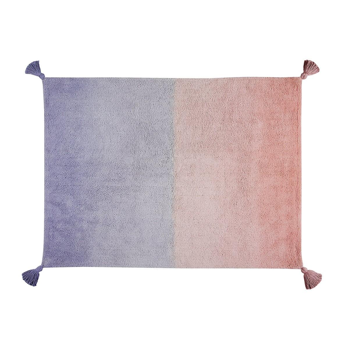 Πλενόμενο Χαλί (120x160) Lorena Canals Ombre Coral Pink-Lavender