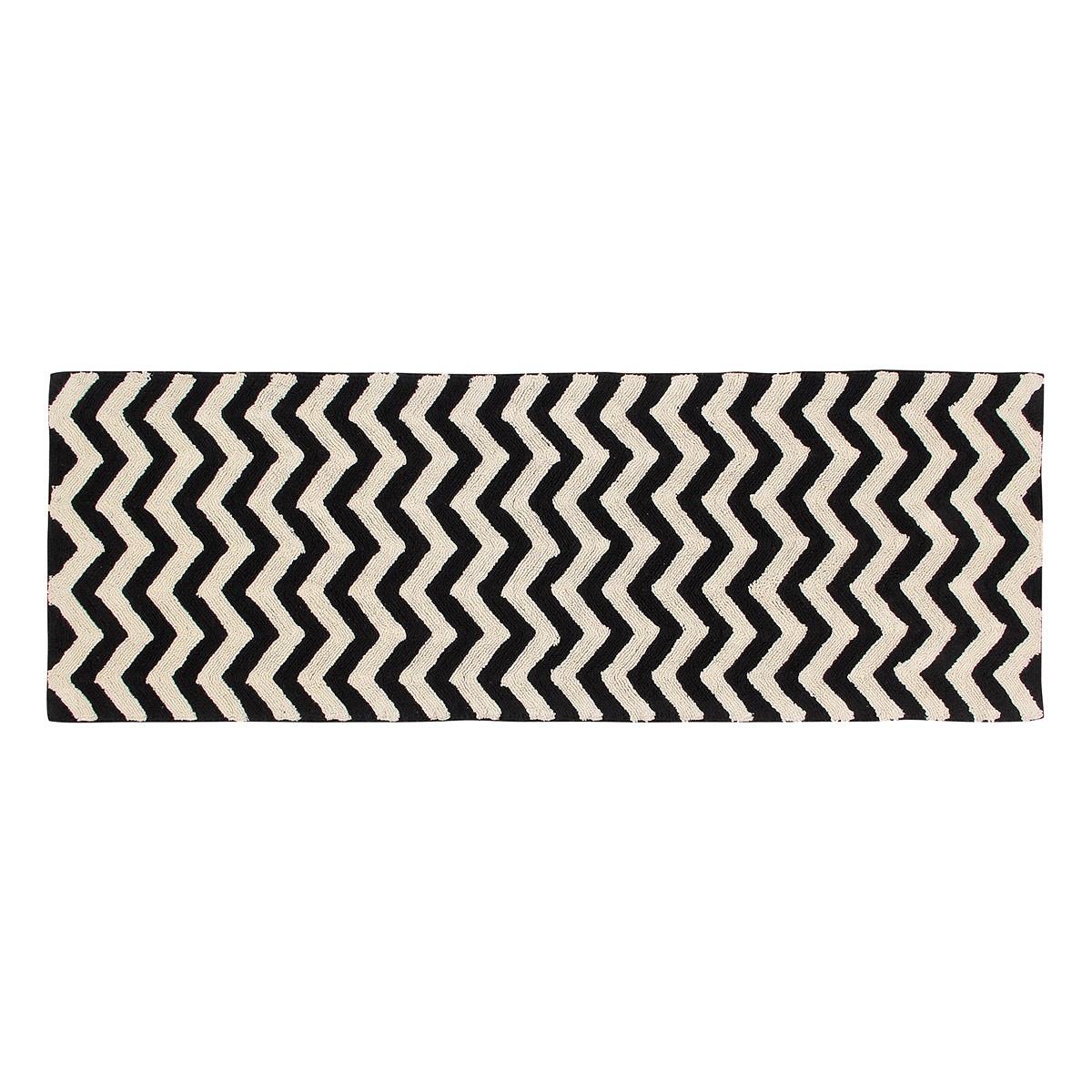 Πλενόμενο Χαλί Διάδρομος (80×230) Lorena Canals Zig-Zag 64637