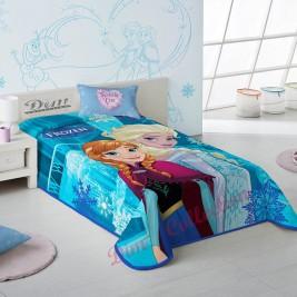 Κουβέρτα Βελουτέ Μονή Dim Collection Frozen