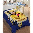Κουβέρτα Βελουτέ Μονή Dim Collection Mickey Mouse