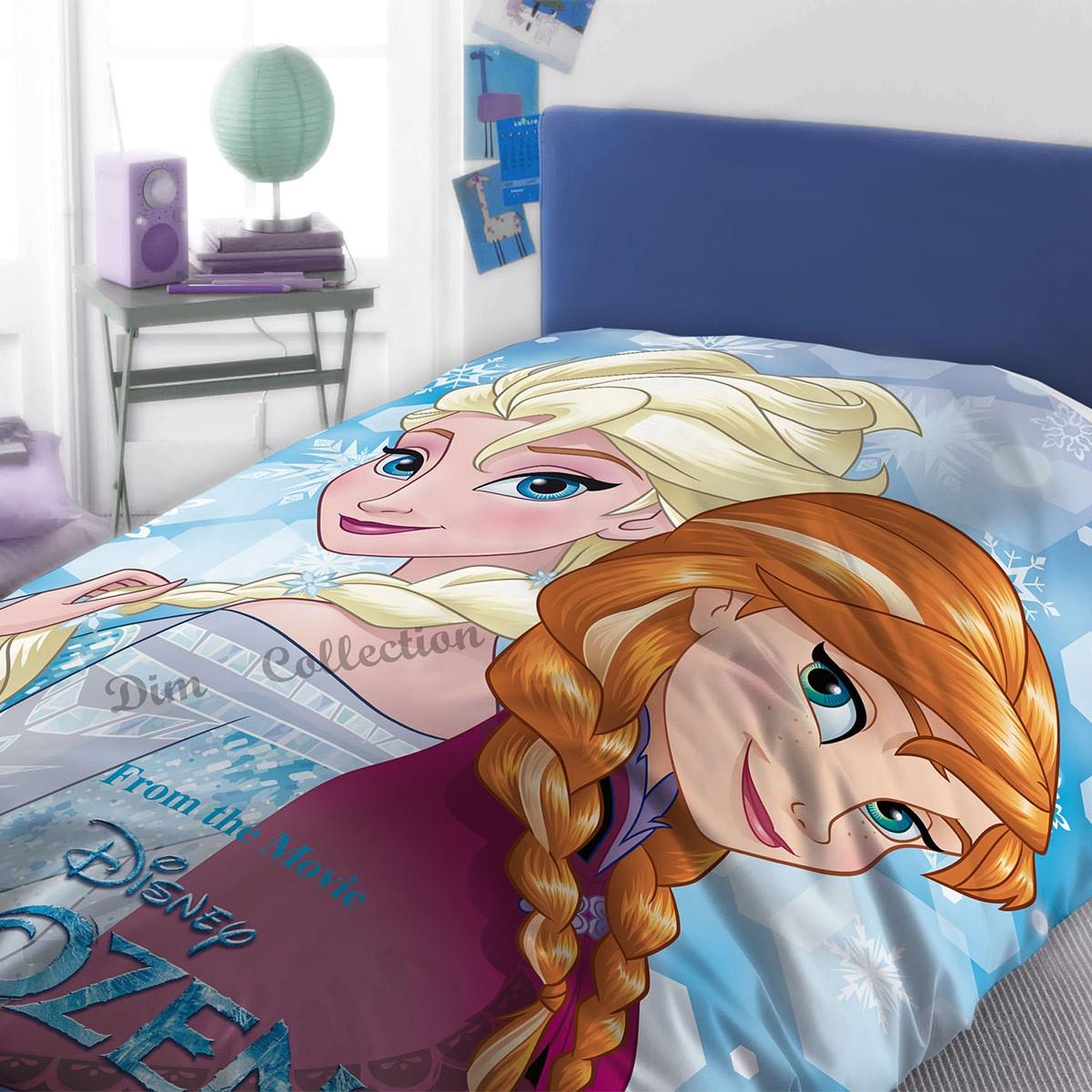 Σεντόνια Μονά (Σετ) Dim Collection Frozen 500