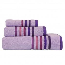 Πετσέτες Μπάνιου (Σετ 3τμχ) Nef-Nef Lines Lilac