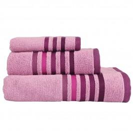 Πετσέτες Μπάνιου (Σετ 3τμχ) Nef-Nef Lines Apple
