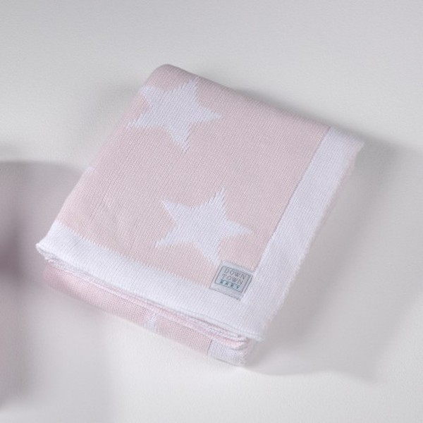Κουβέρτα Πλεκτή Αγκαλιάς Down Town Imperio 254 Ροζ