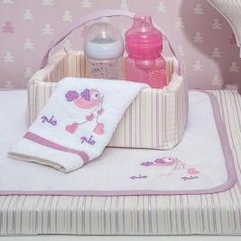 Καλαθάκι Καλλυντικών Baby Oliver Lilac Dream Birds 300