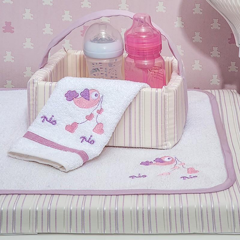 6cd12f0e54c Καλαθάκι Καλλυντικών Baby Oliver Lilac Dream Birds 300 64921