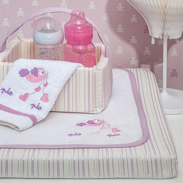 Κάλυμμα Αλλαξιέρας Baby Oliver Lilac Dream Birds 300