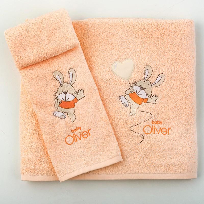Βρεφικές Πετσέτες (Σετ 2τμχ) Baby Oliver Des 490