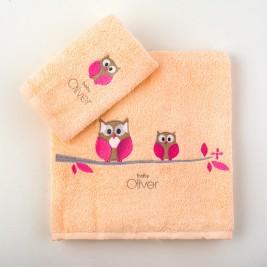 Βρεφικές Πετσέτες (Σετ 2τμχ) Baby Oliver Des 492