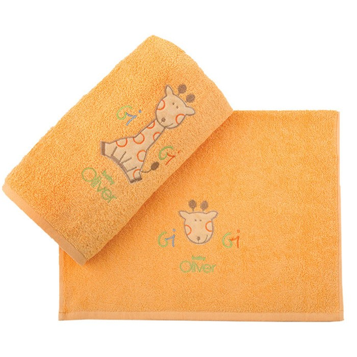 Βρεφικές Πετσέτες (Σετ 2τμχ) Baby Oliver Des 491