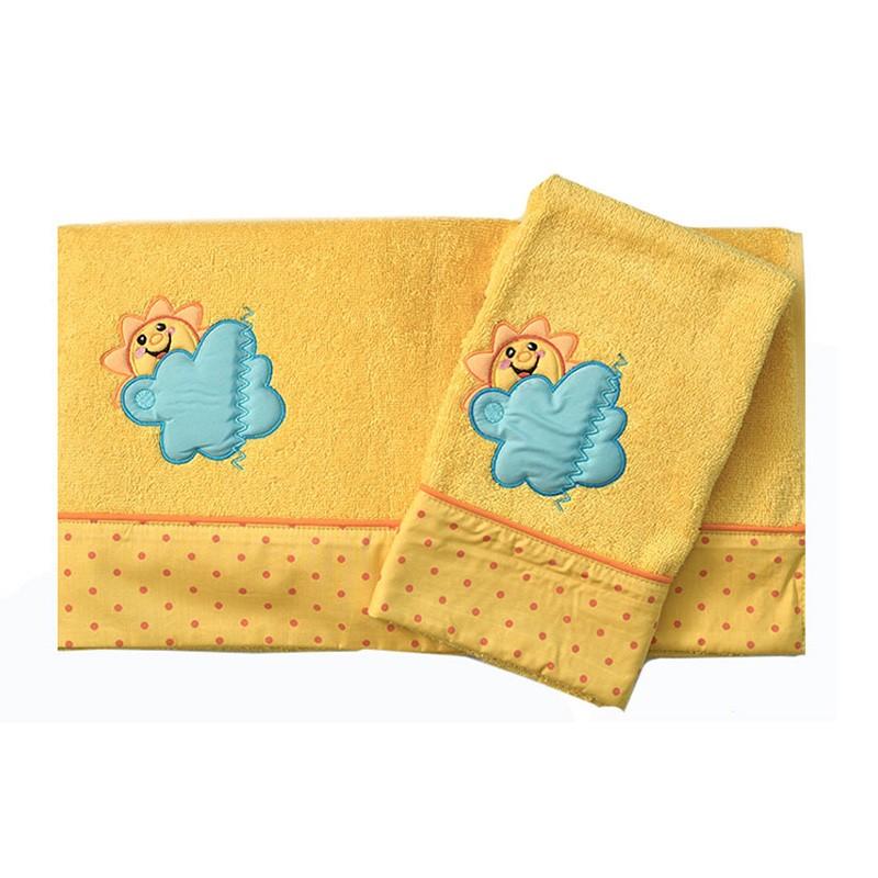 Βρεφικές Πετσέτες (Σετ 2τμχ) Baby Oliver Des 493