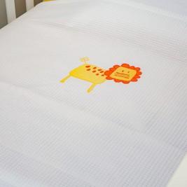 Κουβέρτα Πικέ Κούνιας Baby Oliver Des 470