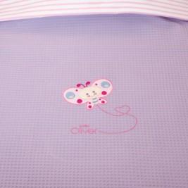 Κουβέρτα Πικέ Κούνιας Baby Oliver Des 472