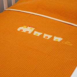 Κουβέρτα Πικέ Κούνιας Baby Oliver Des 473