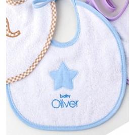 Σαλιάρα Baby Oliver Little Blue Joy 303