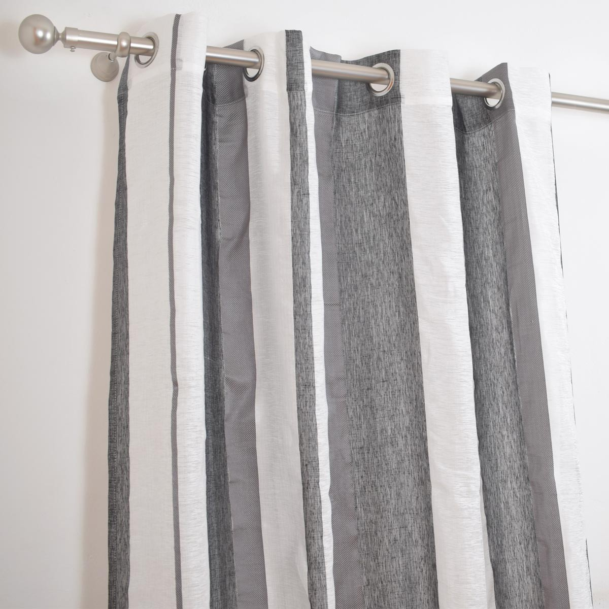 Κουρτίνα (150x260) Classic Rayas Grey