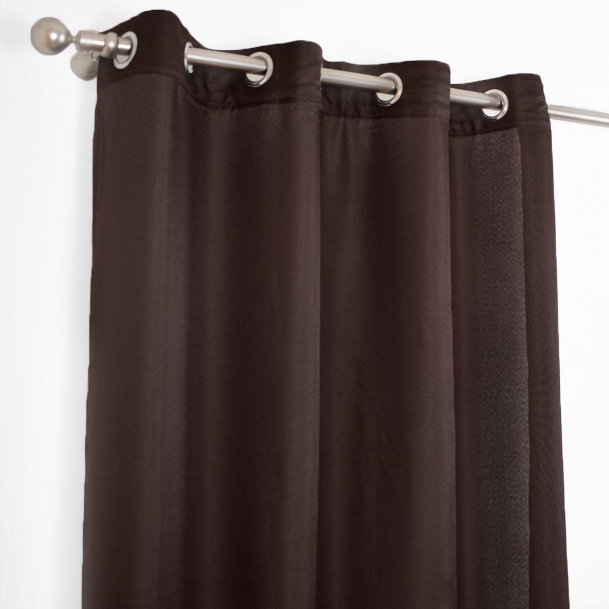 Κουρτίνα (140x260) Classic Paleta Brown