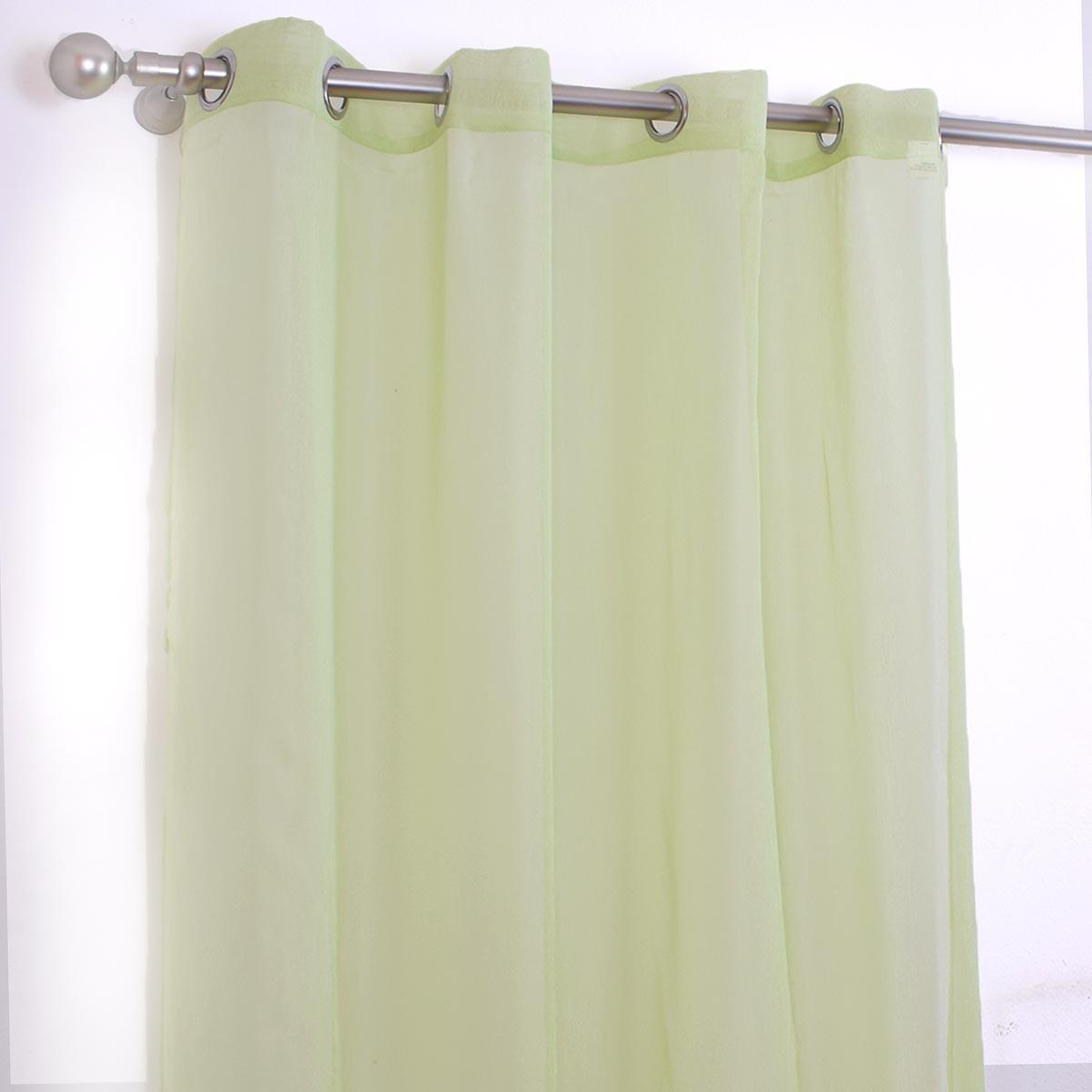 Κουρτίνα (145x260) I-0525 Light Green