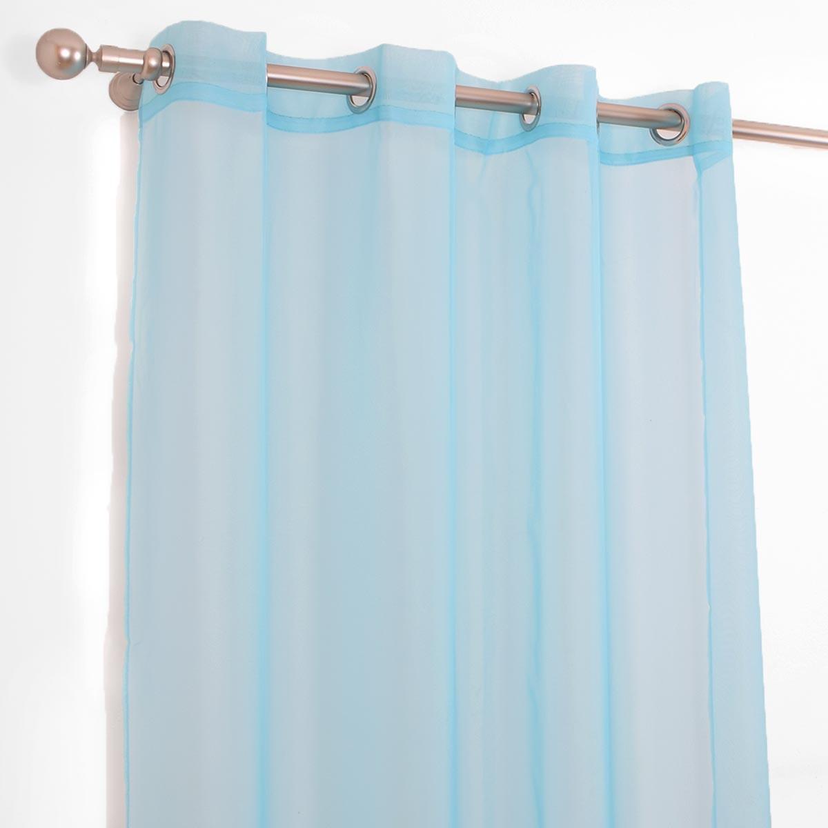 Κουρτίνα (145x260) L-0525 Sky Blue