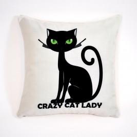 Διακοσμητική Μαξιλαροθήκη Alexia Cats