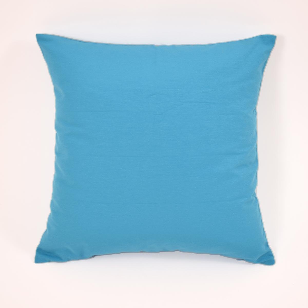 Διακοσμητική Μαξιλαροθήκη (45x45) Paleta Turquoise