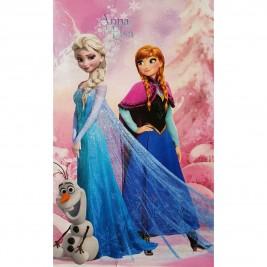 Κουβέρτα Βελουτέ Μονή Limneos Disney Frozen