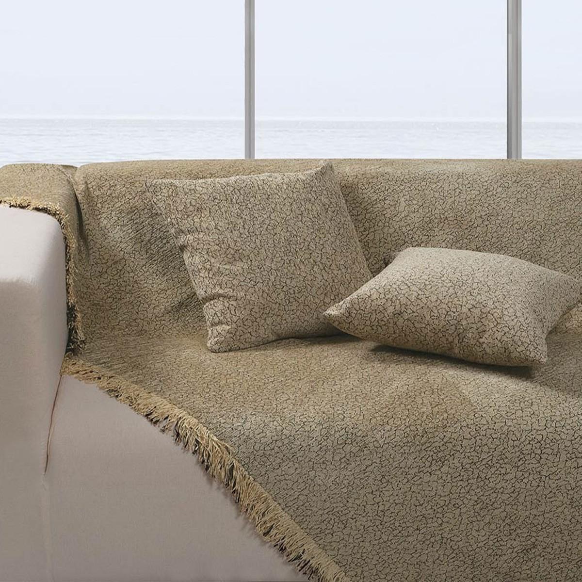 Ριχτάρι Τετραθέσιου (180x350) Das Home Throws Line 064 home   σαλόνι   ριχτάρια καναπέ