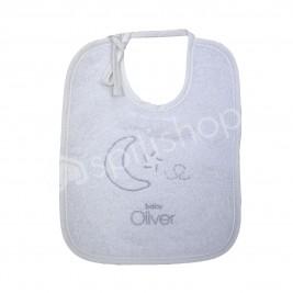 Σαλιάρα Baby Oliver Silver Moon 609