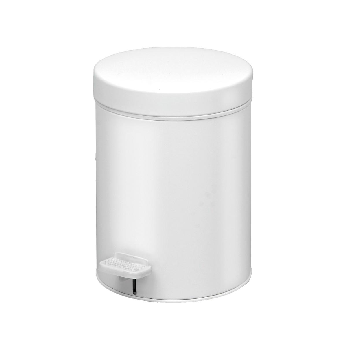 Κάδος Απορριμάτων (18×26) PamCo 3Lit 605 White