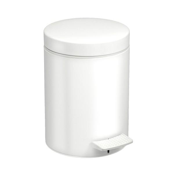 Κάδος Απορριμμάτων (20x28) Pam & Co 5Lit 96 White Matte