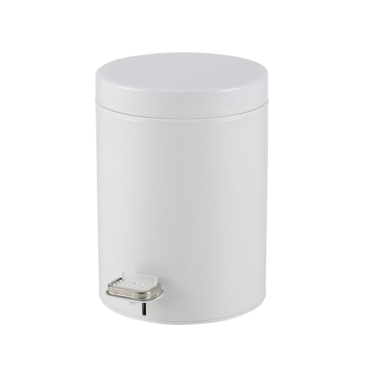 Κάδος Απορριμάτων (23x32) PamCo 8Lit 500 White