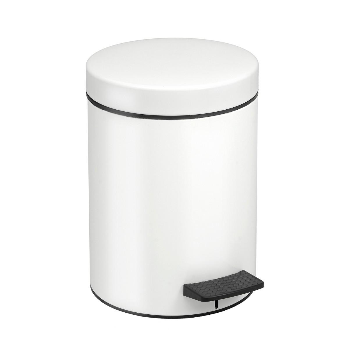 Κάδος Απορριμάτων (20x28) PamCo 5Lit 96 White