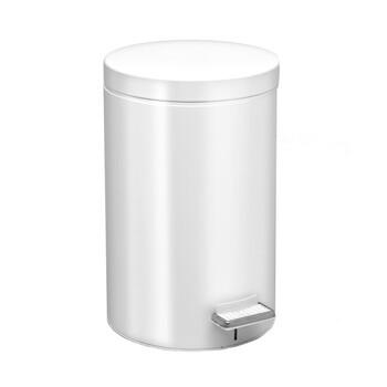 Κάδος Απορριμάτων (25x40) PamCo 12Lit 90 White